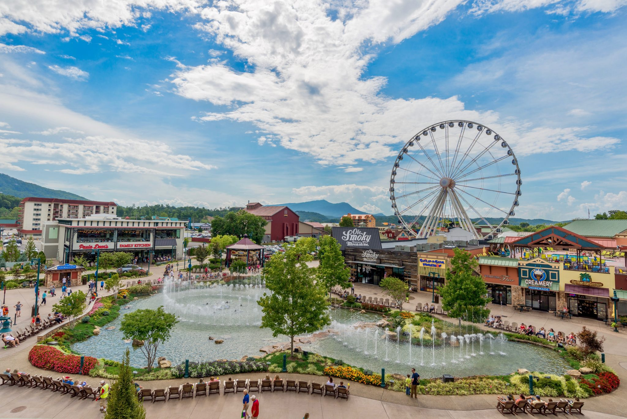 Photo Courtesy of the Island Pigeon Forge